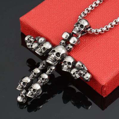 Ultimate Skull Cross Necklace™ For Men