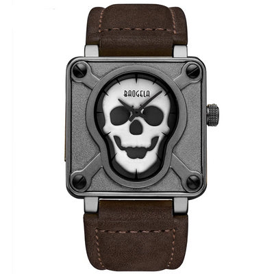 Super Luminous Skull Wrist Watch