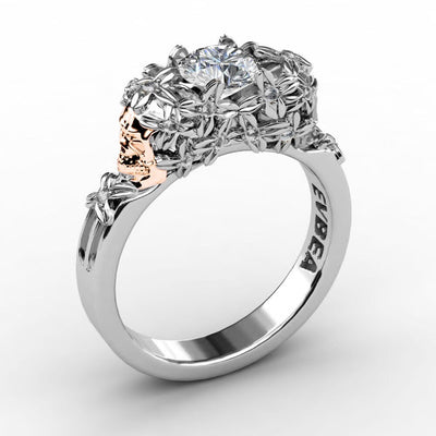 Elegant Skull Wedding Ring For Women-Limited Offer