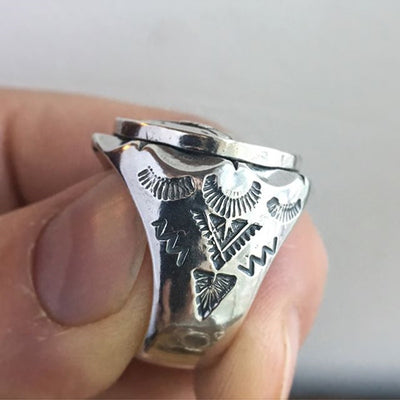 Liberty Skull Ring For Men