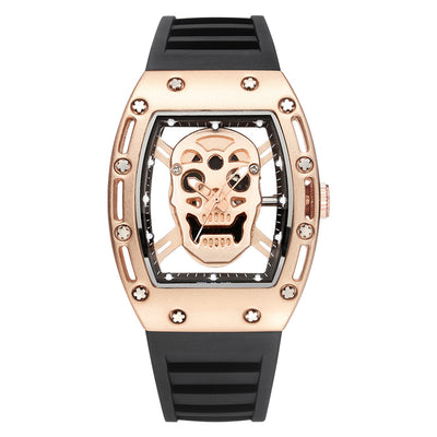 Hollow Skull Wrist Watch