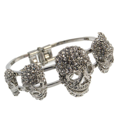 Friendship Chain Skull Bracelet For Women