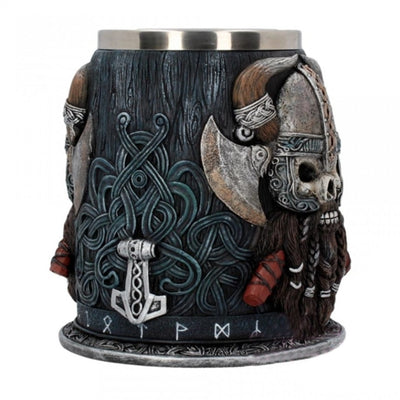 Viking Skull Warrior Mug