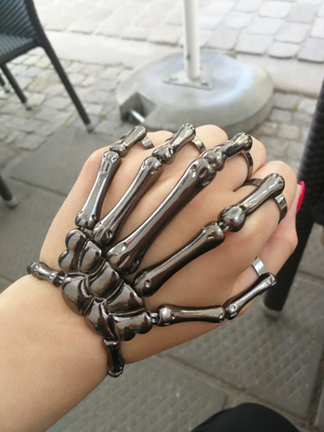 Insane Skull Skeleton Bracelet