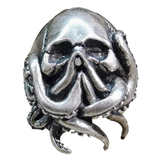 Octopus Skull Ring Punk For Men