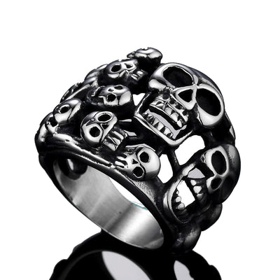 Mega Skull Ring For Men
