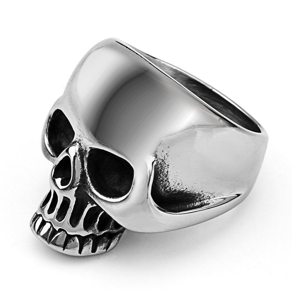 Iron Head Skull Ring™ For Men