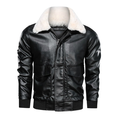 Men's Lone Rider Faux Leather Jacket