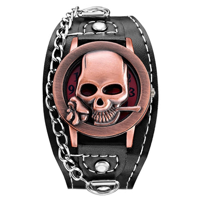 Skull Cover Wrist Watch