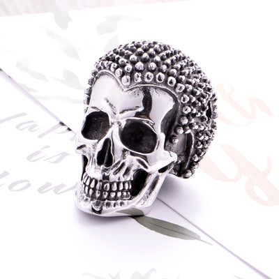Buddha Skull Necklace For Men