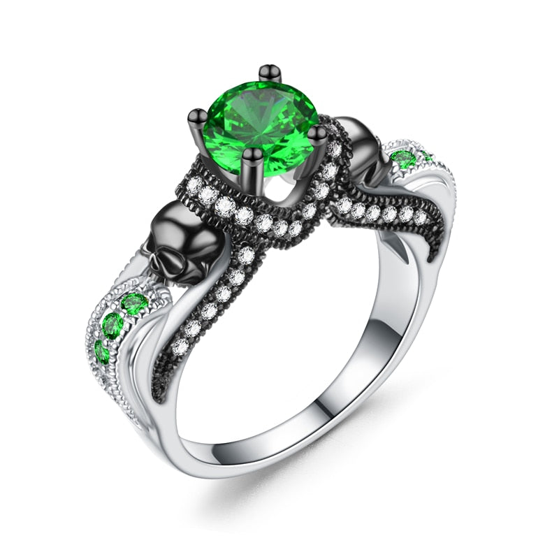 FREE-Skull Faith Ring