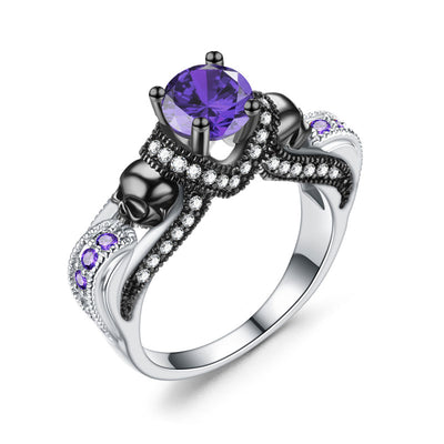 Skull Faith Ring For Women