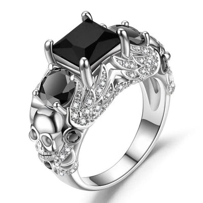 Angel Skull Ring For Women
