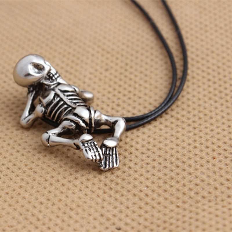 Baby Skull Necklace For Men