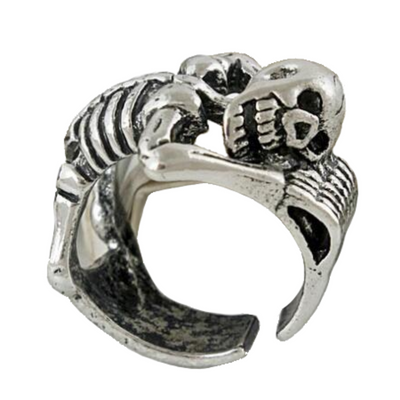 Tender Skeleton Skull Ring For Men Women
