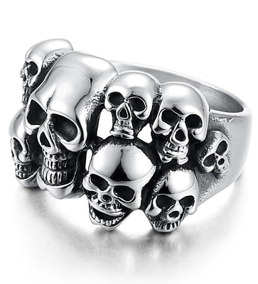 All Skull Ring For Men