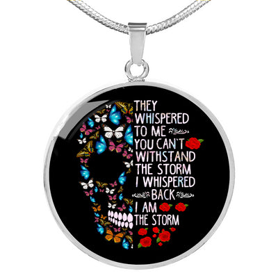 I Am The Storm Necklace For Women