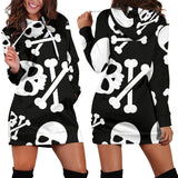 Skull & Crossbones Hoodie Dress