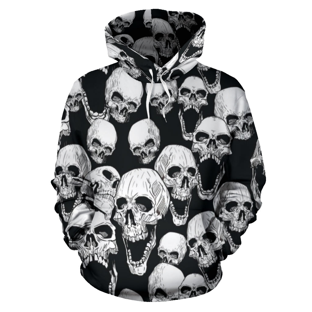 Screaming Skulls Hoodie