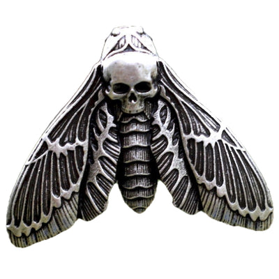 Skull Moth Necklace