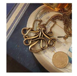 Pendant Necklaces - Caribbean Octopus Pendant Necklace