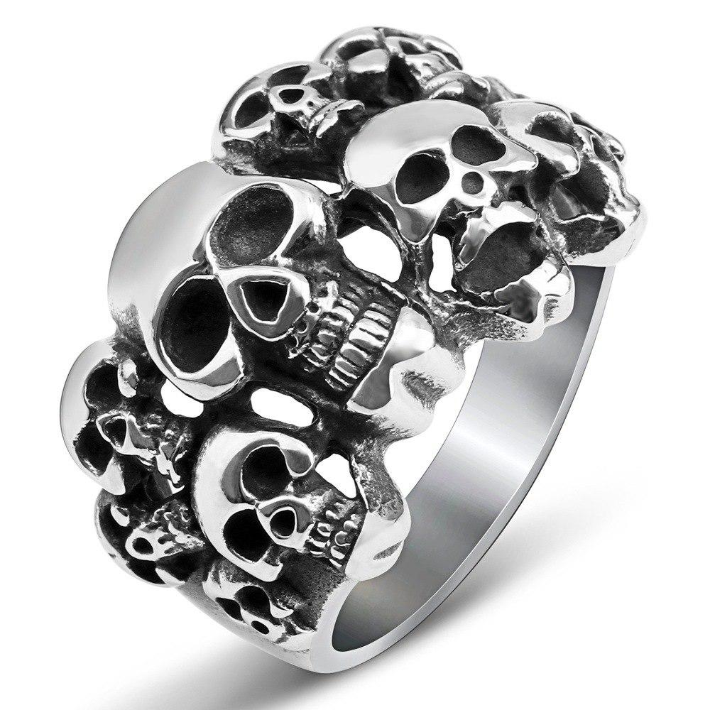 Rings - FREE-All Skull Ring