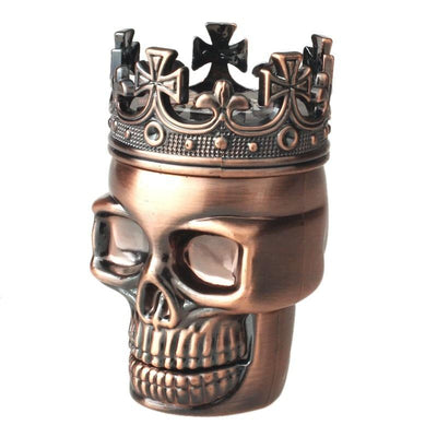 Tobacco Pipes & Accessories - King Skull Herb Grinder