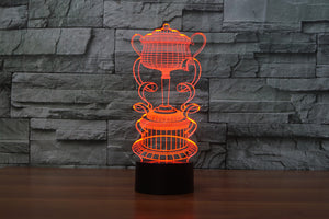 Trophy Cup 3D Optical Illusion LED Lamp