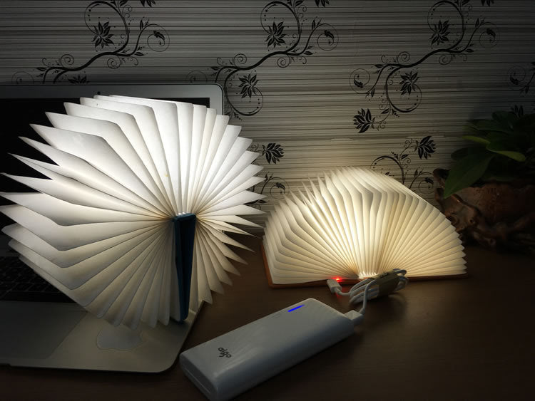 Book Shape 3D LED Lamp