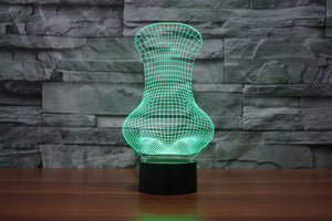 chilldecor.com Big Nose shape 3D Optical Illusion LED Lamp