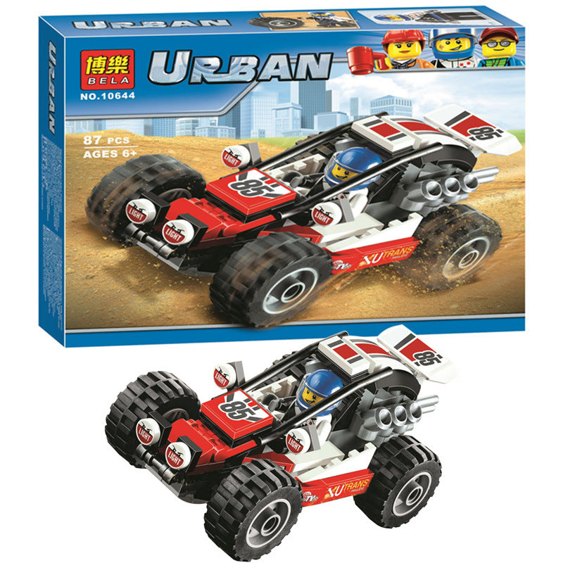 Urban Mountain buggy Building Blocks Toys Bela 10644
