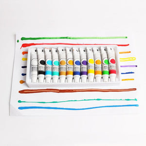 12-Piece Acrylic Painting Set