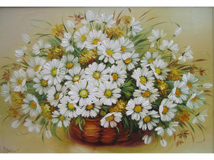 Sunflower Frameless DIY Acrylic Paint By Numbers Kit 40x50cm