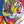 Abstract Colorful Tiger Frameless DIY Acrylic Paint By Numbers Kit 40x50cm