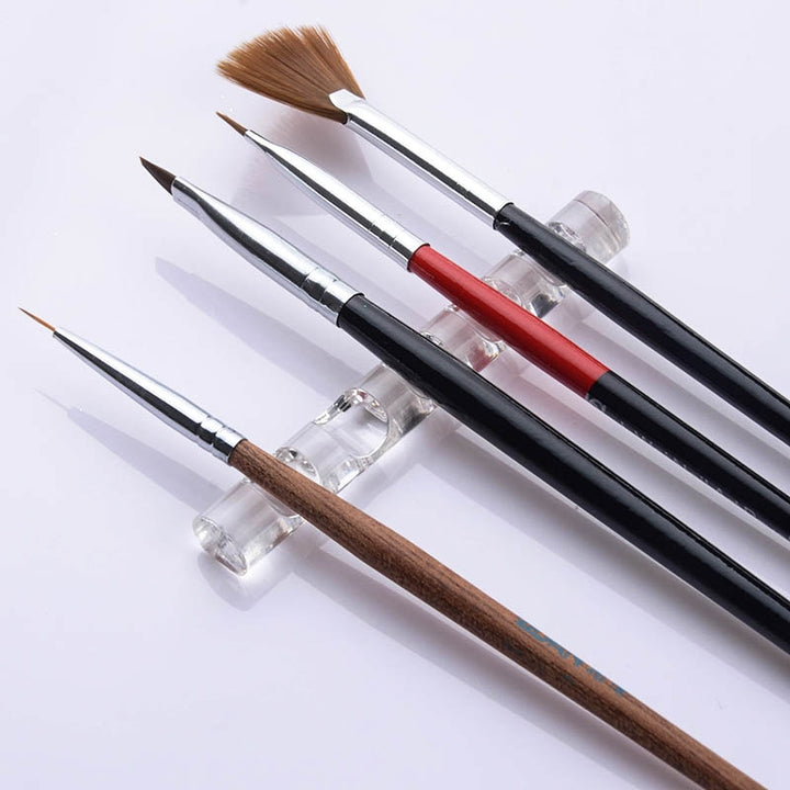 5 Grids Painting Brush Holder