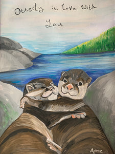 """Otterly in love you"""
