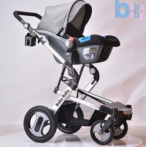 3 in 1 Baby Stroller with Bassinet & free Infant Capsule