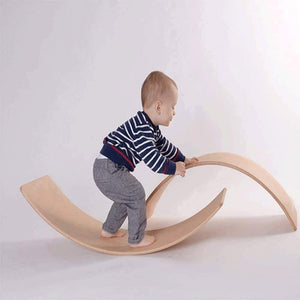 Balance IT : The Wooden Balance Board