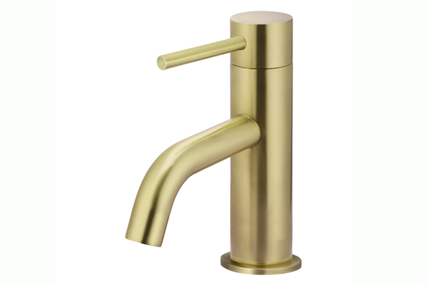Tiger Bronze Piccola Basin Mixer Tap