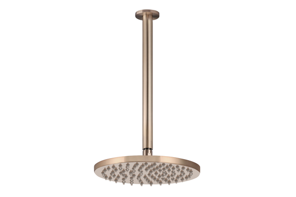 Champagne Ceiling Shower Head