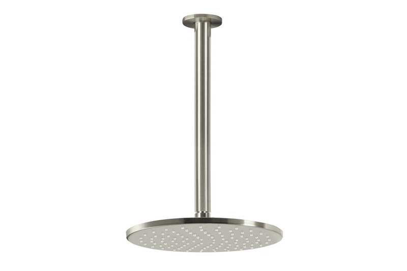 Brushed Nickel Ceiling Shower Head