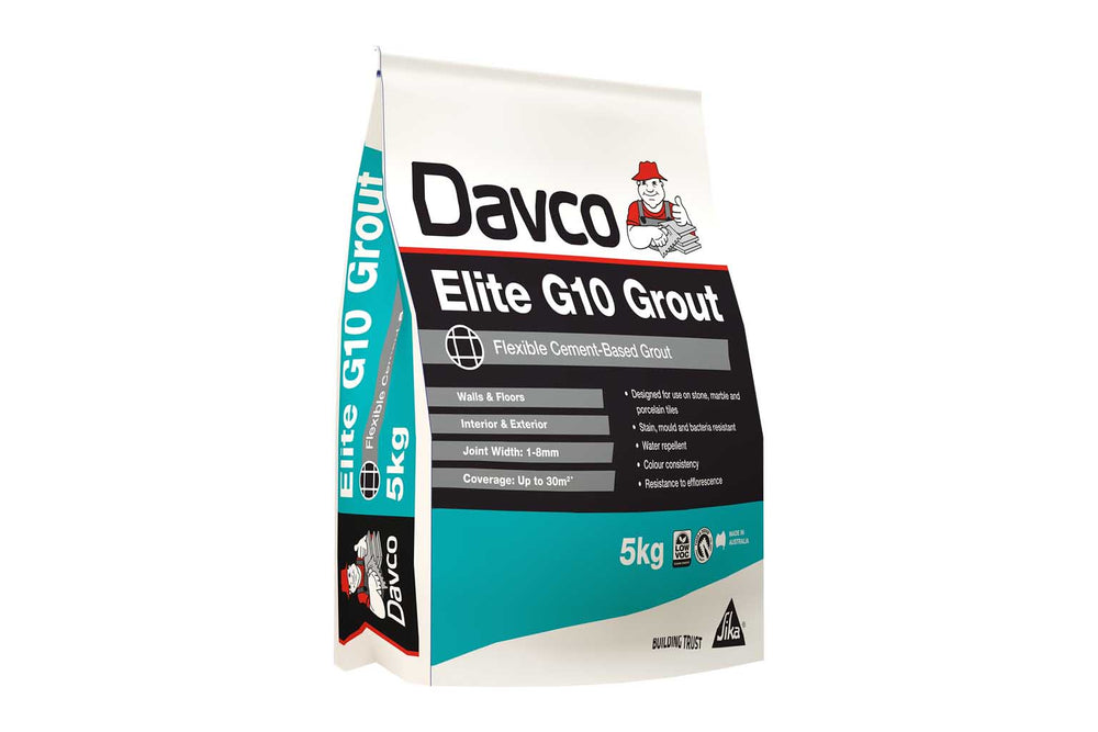 Davco Elite G10 Grout Blackest Black