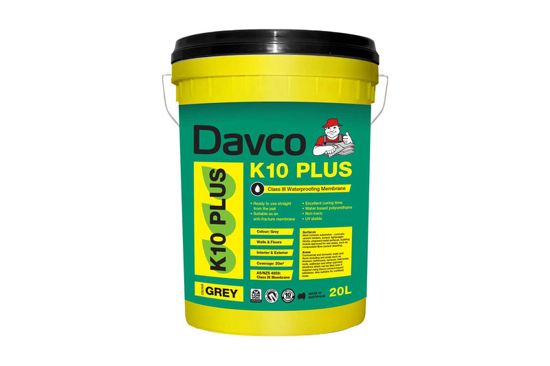 Davco K10 Plus Waterproofing Membrane Grey