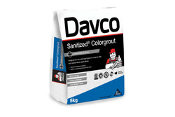 Davco Light Grey Sanitized Colour Grout 5kg