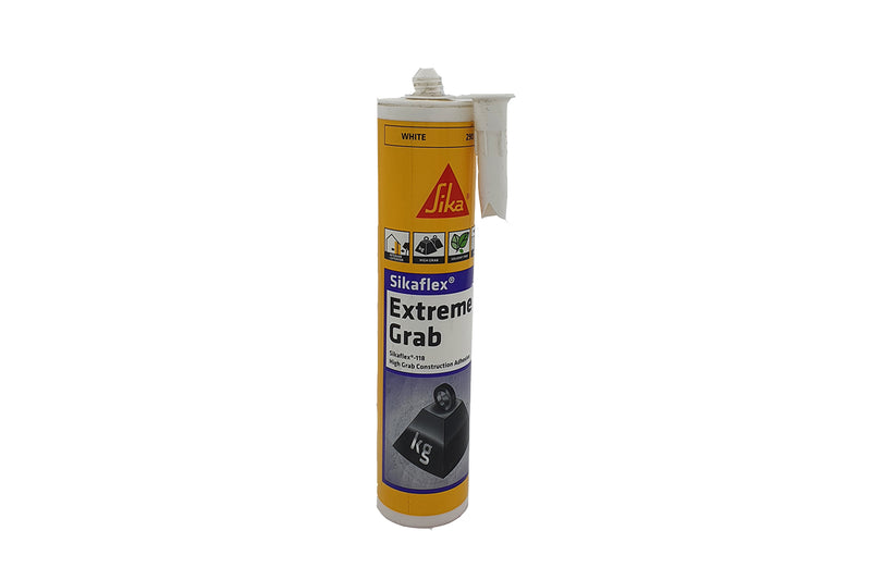 Sikaflex®-118 Extreme Grab 290ml Cartridge White