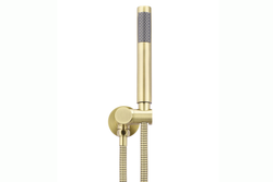 Tiger Bronze Round Hand Shower on Bracket