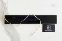 Ink Black Russell Subway Tile