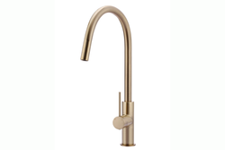 Champagne Piccola Pullout Mixer Tap