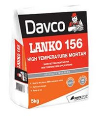 Davco Lanko 156 High Temperature Mortar 5kg