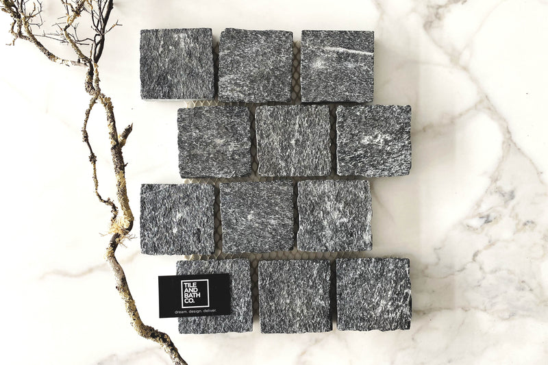 Midnight Granite Cobble Stone